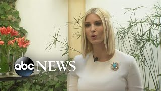 Ivanka Trump breaks with her dad on whistleblower identity | ABC News