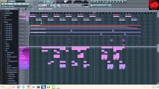 FL Studio 10 Pokemon X Y Dark Skies|Trap Remix|LOUD BASS|HD