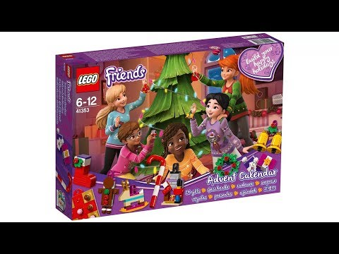 LEGO Friends Advent Calendar 41353 For Christmas Picture Sets