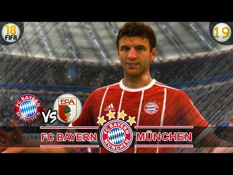 FIFA 18: FC Bayern vs FC Augsburg | Karrieremodus #19