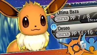 Gambar cover ¡EEVEE CON SOLO 2 ATAQUES SUUUPER OP! Pokémon Sol y Luna: COMBATE!