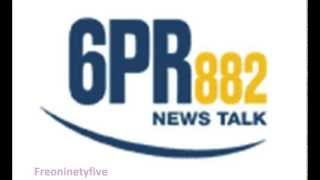 Ross Lyon On 6PR  22/7/13