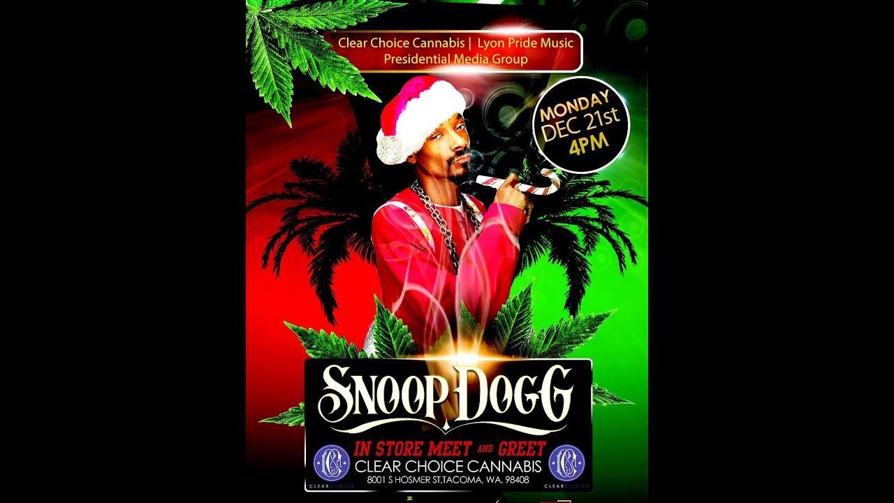 Snoop Dogg 420 Meet And Greet At Clear Choice Cannabis Youtube