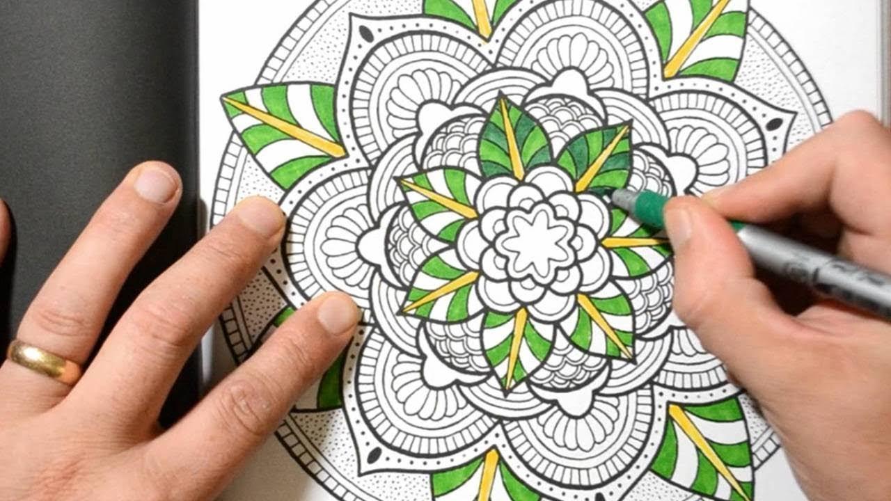 A Peak Inside My New Book 101 MANDALAS Adult Coloring