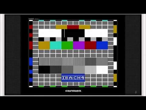 Channel 4 Test Card - Carmen (Complete)