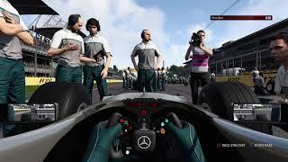 F1 2017 Classic Car Racing League Race Round 1   McLaren MP4-13 at Mexico