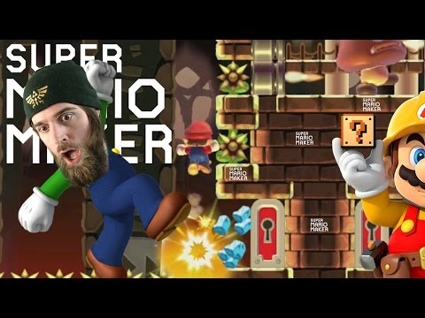 """Short and Sweet"" Explosive Bomb Kaizos and Amazing Music Levels - Super Mario Maker"