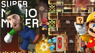 """""""Short and Sweet"""" Explosive Bomb Kaizos and Amazing Music Levels - Super Mario Maker"""