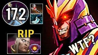 OMG +172 INT STOLE Defeat Master Invoker Spammer Crazy Silencer 40 Kills Epic Game Dota 2