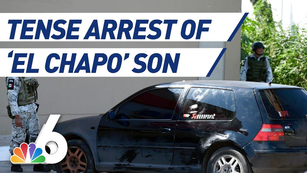 Download Bodycam Footage Shows Tense Arrest of 'El Chapo' Son   NBC 6