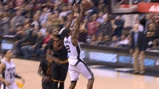 Kawhi Leonard Dunks to Seal the OT Win vs. Cavs | 01.21.17