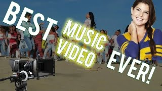 PARTY ON A MOROCCAN BEACH! | Amanda Cerny ft. Red One