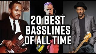 The 20 best bass lines of all time?