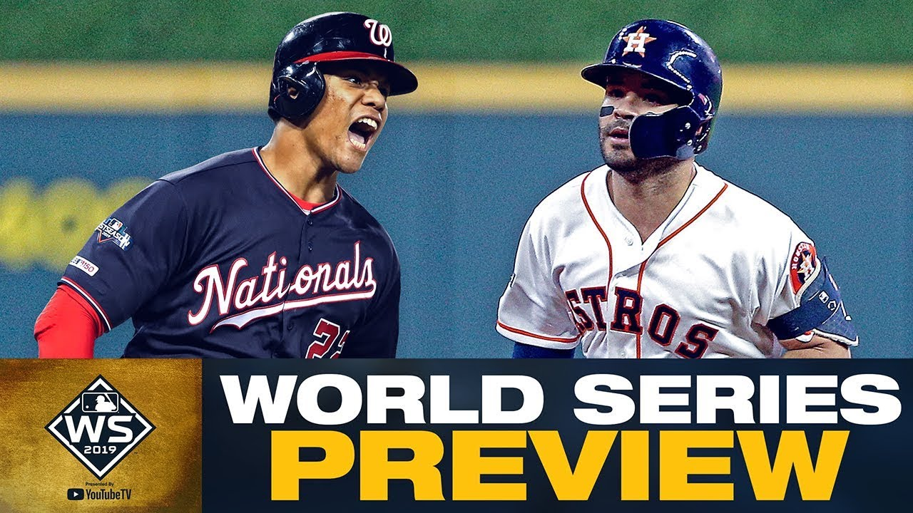 World Series Preview: Astros, Nationals show down in 2019 Fall Classic!