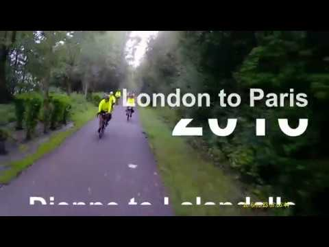 London To Paris 2016, Day 2, Dieppe To Lalandelle