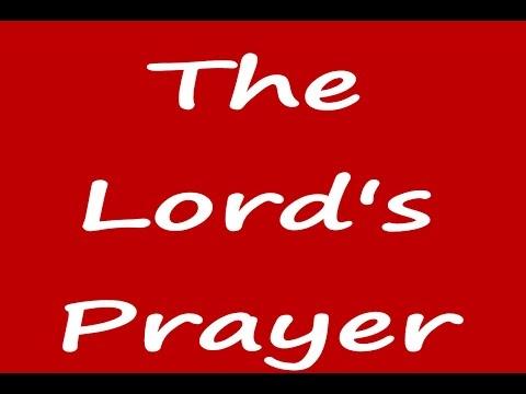 The Lords Prayer - Karaoke Low Key - Always Glorify God!