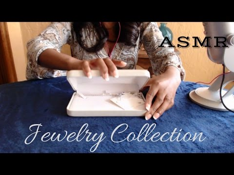 ASMR Jewelry Collection : tapping, scratching, jingling