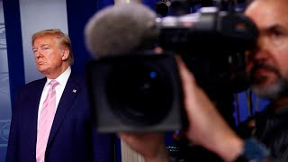 The media is 'demented with Trump hatred'