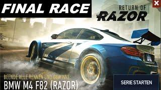 Need For Speed No Limits - FINAL RACE - Return Of Razor BMW M4 F82   [HD]