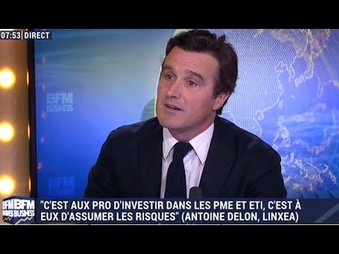 """""""Il ne faut pas dire que l'assurance vie ne rapporte pas"""" Interview d'Antoine Delon sur BFM Business"""