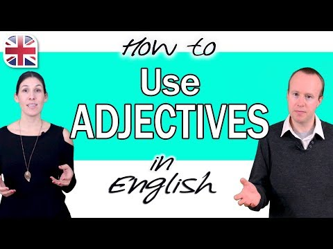 How to Use Adjectives in English - English Grammar Course