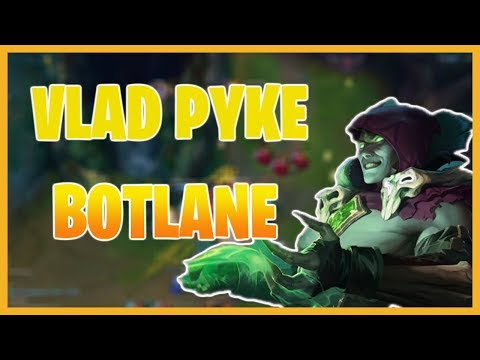 PYKECHU | VLAD PYKE BOTLANE! ROAD FROM GOLD TO DIAMOND!