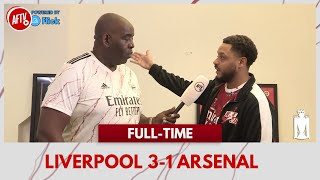 Liverpool 3-1 Arsenal | Lacazette F**ked Up! (Troopz)