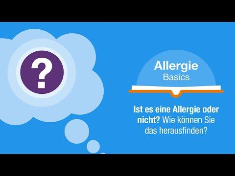 Ist es eine Allergie oder nicht? Wie können Sie das herausfinden?