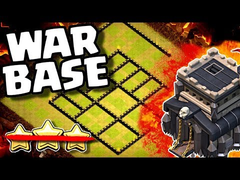 NEW TH9 War Base | Anti 3 Star Build Breakdown | Clash Of Clans