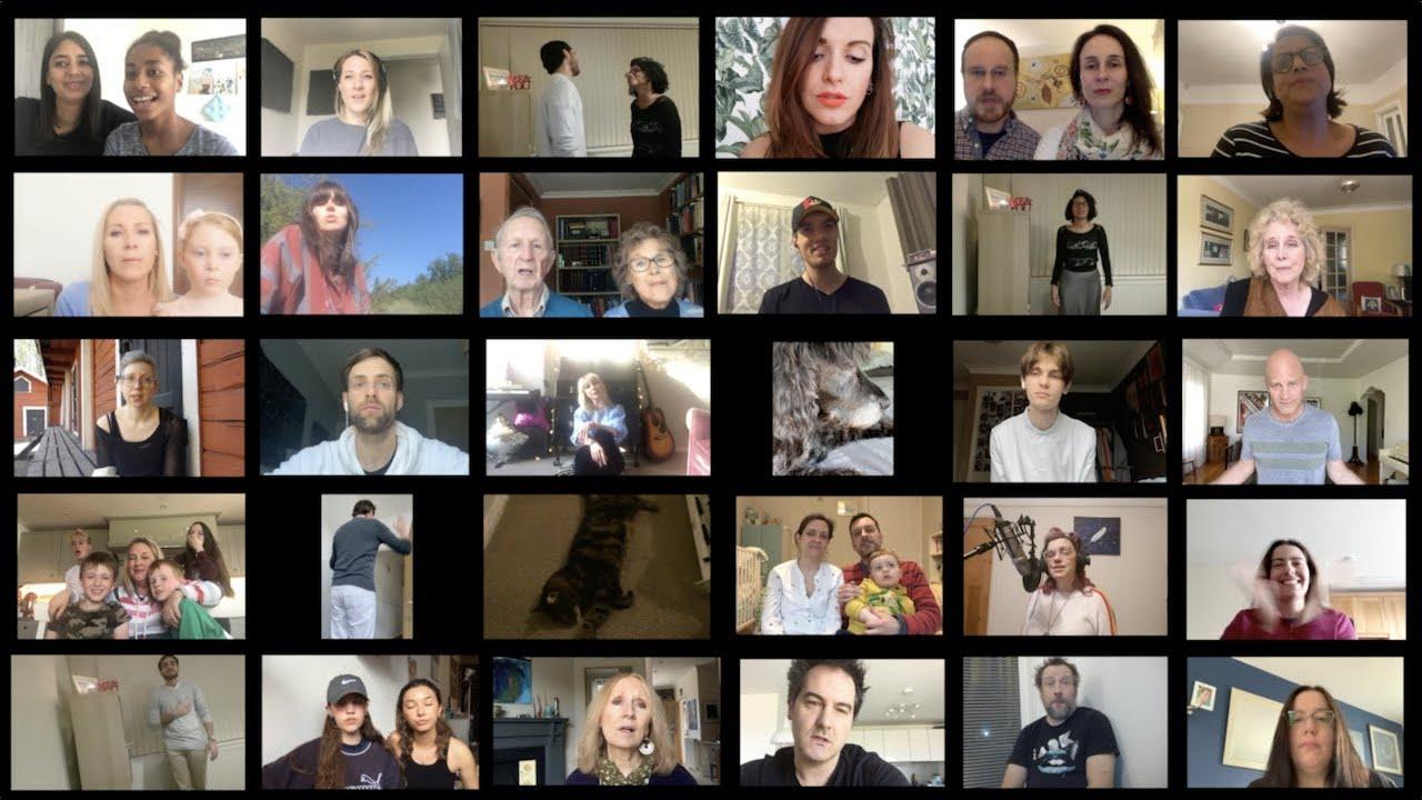 Stephie Grace & Friends - Every Body Lockdown Music Video