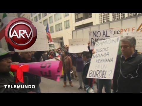 Se disculpa radio locutor latino por burla a mexicanos   Al Rojo Vivo   Telemundo