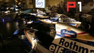 Williams F1 AWESOME car collection including Ayrton Senna's