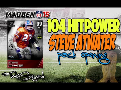 Madden 15 Ultimate Team | 104 HITPOWER STEVE ATWATER | PACK OPENING