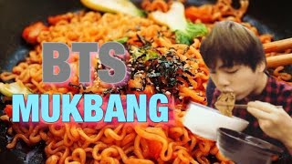 BTS (방탄소년단) Mukbang (목방) BANGTAN Eating Show