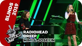 Radiohead - Creep (Mimi & Josefin) | Blind Auditions | The V...
