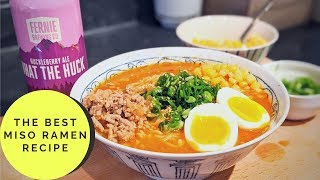 The BEST Miso Ramen Recipe - The Tipsy Cookery