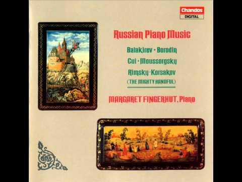 1. Russian piano music Balakirev - In the garden