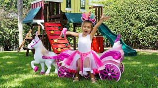 Nastya e Artem melhores histórias mágicas e engraçadas para crianças