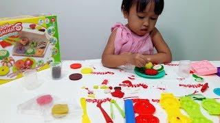 Mainan Anak Membuat DONAT CLAY dan PERMEN 💖 Lucu Lucu dan Imut Hasilnya... 💖 Let's Play Jenica