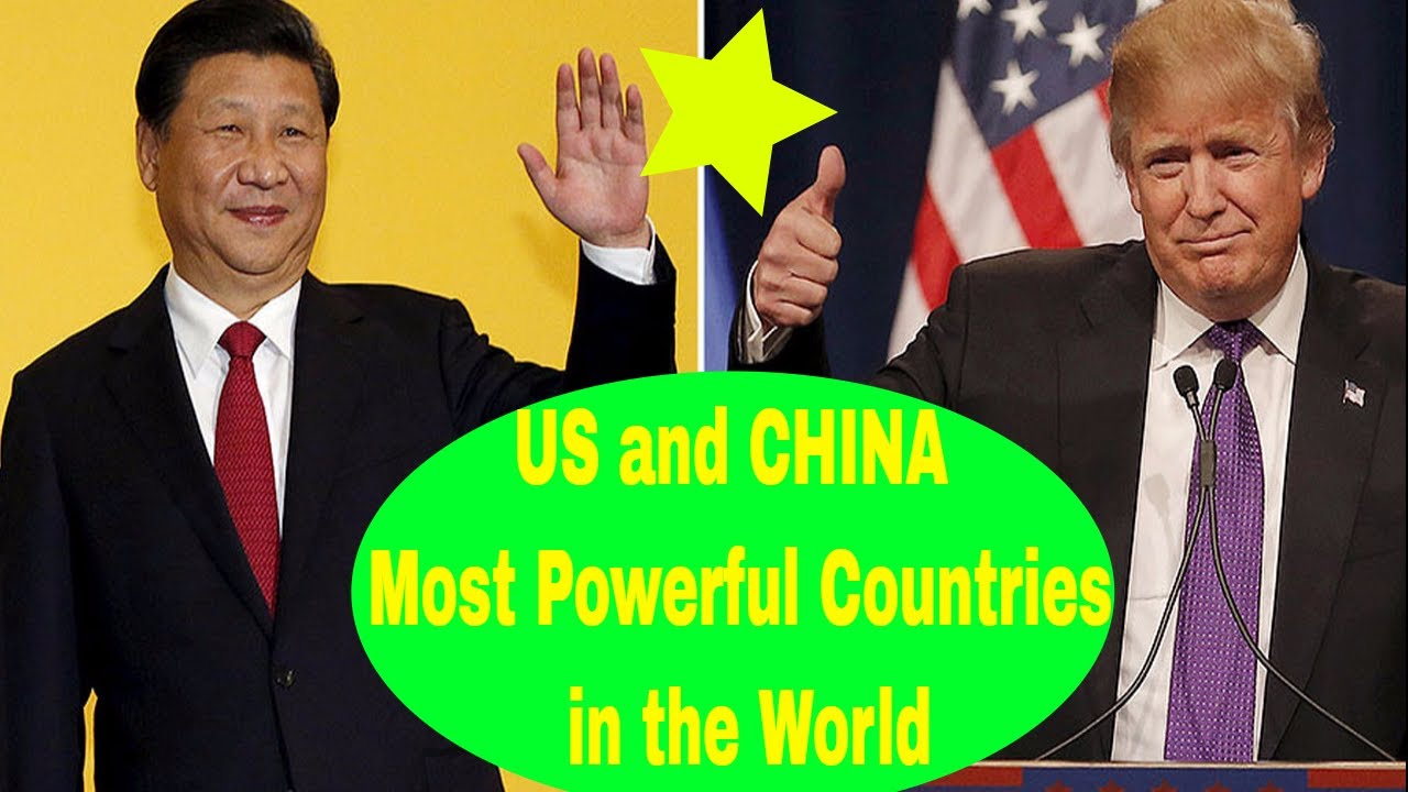 The Worlds Top Economy The US Vs China In Five Charts In Future - World most powerful countries in future