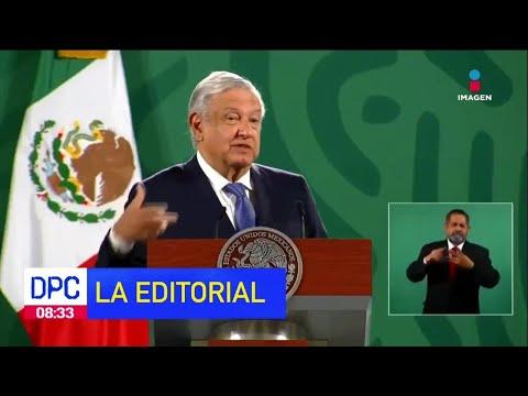 """López Obrador propone extender """"las mañaneras""""   La Editorial de Pamela   De Pisa y Corre"""