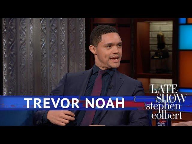 Trevor Noah Was Low-key In 'Black Panther'
