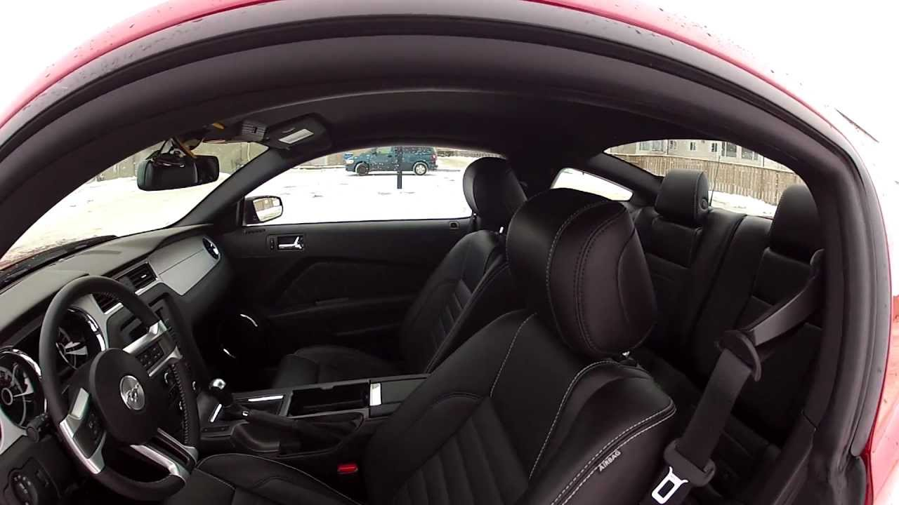2013 ford mustang gt walk around interior start up and revs - 2013 Ford Mustang Interior