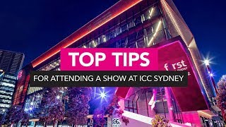Top Tips for Attending a Show at ICC Sydney