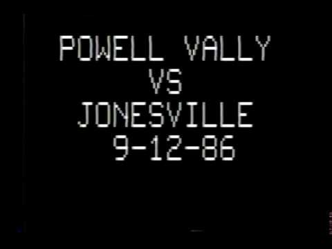1986 Powell Valley High School - Jonesville High School Support and Visit YouTube: Crazy J Cousins)