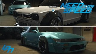 NEED FOR SPEED (2015) - EXKLUSIVE CUSTOMIZATION / TUNING GAMEPLAY - 5 DIFFERENT CARS
