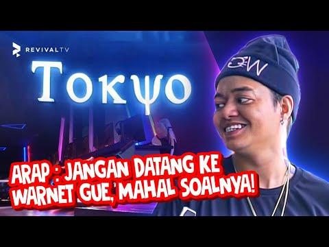 Reza Arap Oktovian Buka Warnet Bareng Kaesang & Gibran! - Tokyo Gaming Space Feat. YB