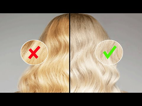чем тонировать волосы от желтизны