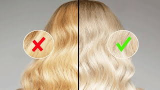 Смотреть видео как убрать мелирование с темных волос