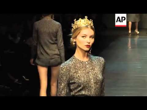 Dolce   Gabbana s new line recalls sacred and profane - YouTube c36151886d